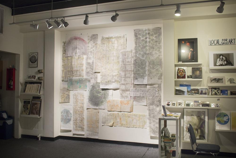 Installation at Jazz Gallery